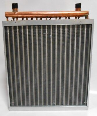 24x24 Water to Air Heat Exchanger Hot Water Coil Outdoor Wood Furnace Air Heat Exchanger Wood Furnace