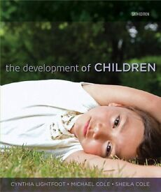 The Development of Children 6th edition with study guide book 2 for 1
