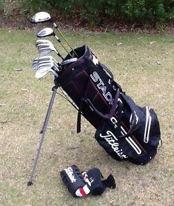 Titliest golf clubs RH men's complete set Bundoora Banyule Area Preview