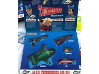 1992 Thunderbirds Rescue Pack Thunderbirds 1, 2, 3, 4 and FAB 1 Matchbox