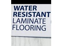 AQUA laminate flooring water resistant supply and fitting
