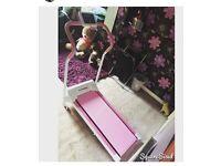 Pink treadmill