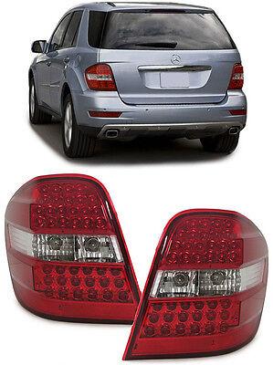 Mercedes ML W164   LED RÜCKLEUCHTEN ROT KLAR