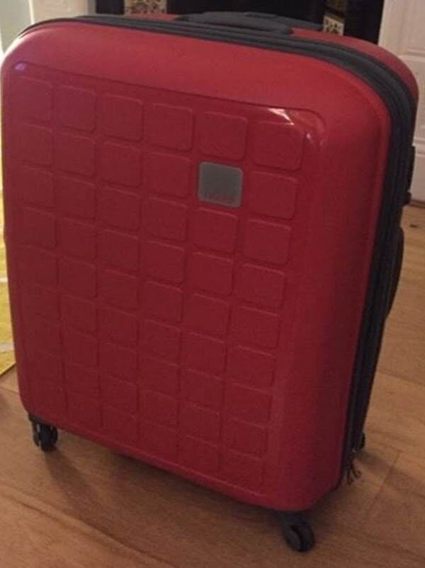 MEDIUM TRIPP Suitcase / luggage (Watermelon) - used twice before ...
