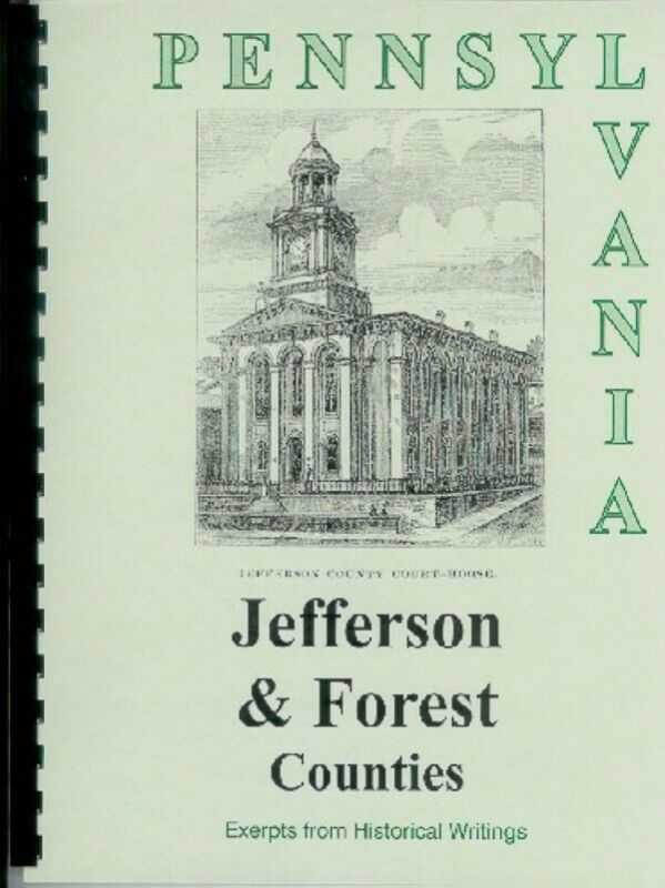 History of  Jefferson & Forest County Counties PA Punxsutawney Pennsylvania