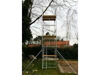 SCAFFOLD TOWER - BRAND NEW - QUALITY BRITISH STEEL - HIGH SPECIFICATION