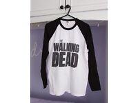 Ladies The Walking Dead T-Shirt Long Sleeve - Horror Zombie Show Comic book Rick Daryl