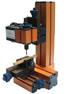 Mini Milling Machine DIY Machinery Power Tool for Student Hobby Model Making