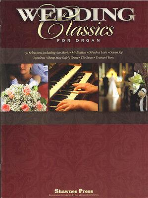 30 Wedding Classics for Organ Noten für Orgel leicht