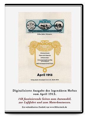 CD Morell Transmissions Hängelager Karosseriewerk Weinsberg MOTOR April 1913