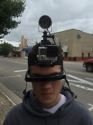 Gopro Hero4 Black Full Spectrum Night Vision IR Light MOD+1080P HD Video Glasses
