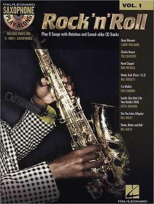 Alt- + Tenor- Saxophone Noten - ROCK´N´ROLL – Vol. 1 + CD Saxophone Play-Along