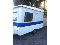 Pop up caravan, Not trailer tent