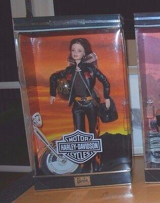 Harley-Davidson Barbie Doll Straight Auburn Hair New NRFB 2000