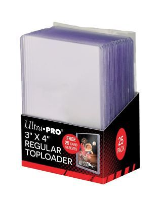 Sleeve Combo Pack (Combo Pack (25) Each Ultra-Pro Topload Card Holders / Soft Sleeves)