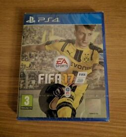 **SEALED** FIFA 17 PS4 GAME BRAND NEW FOR PLAYSTATION 4. LATEST FIFA17