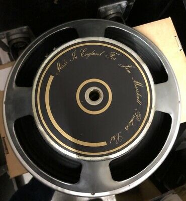 """Mckenzie 12"""" 8 ohm speaker from Marshall combo 1980's Vintage working VGC for sale  Shipping to Nigeria"""