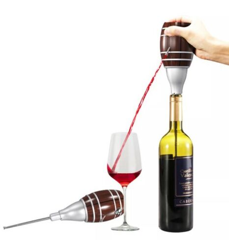 Electric Wine Aerator Pump Dispenser Battery Operated Decanter pouer Barrel