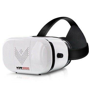 Aduro VR 1000 3D Virtual Reality Glasses Headset, Suitable for...