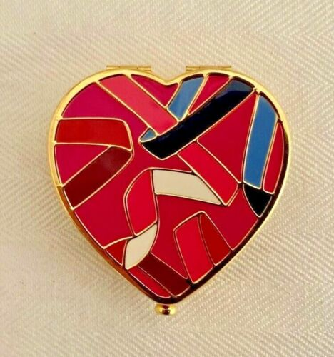 ESTEE LAUDER 2012 HEART Lucidity Pressed Powder COMPACT