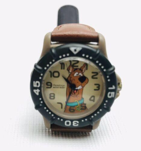 2000 Scooby Doo Watch WORKS  Armitron Quartz Water Resistant