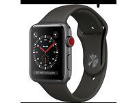 Apple Watch series 42mm.. celuar or not.. space grey