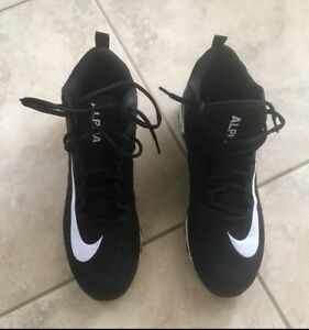 Nike Football Cleats - Alpha Menace - $40