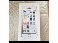 Brand new sealed white and silver iPhone 5s 16 gb w