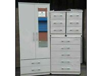 🌞🔥NEW ARRIVED CHEST OF DRAWERS, WARDROBE, BED SIDE ALL NEW READY ASSEMBLED