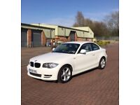 BMW alpine white limited edition 118d sport coupe 53k miles