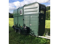 Rice Beaufort Europa Double Horse Trailer