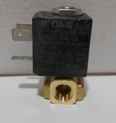 Ceme S.p.a. 12v Solenoid Valve 18 Npt In Out 100 Psi