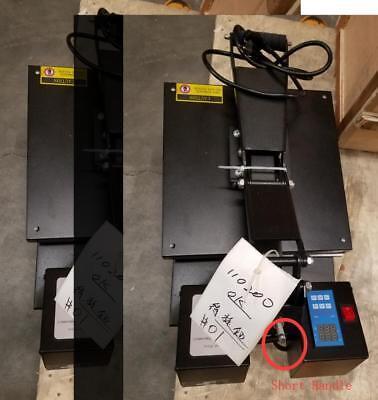 Open Box 15x15inch Digital Heat Press T-shirt Transfer Machine Short Handle
