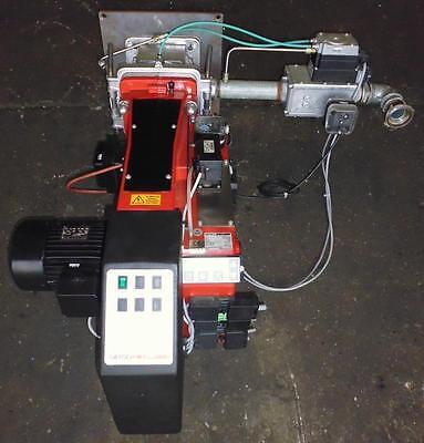 Gasbrenner GIERSCH Typ MG1-ZM-L-N 540kW Gasfeuerung Digital Brenner Gasregler