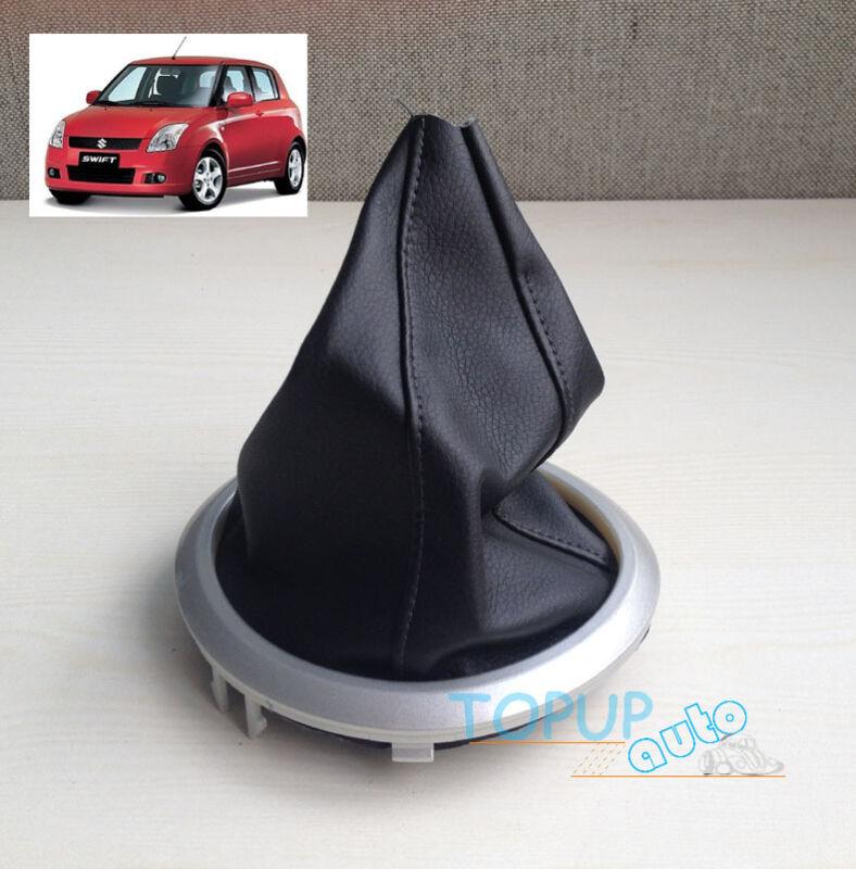 Fit For Suzuki Swift 2005-2010 Gear Knob Gaiter Plastic Frame Gaitor Dust Cover
