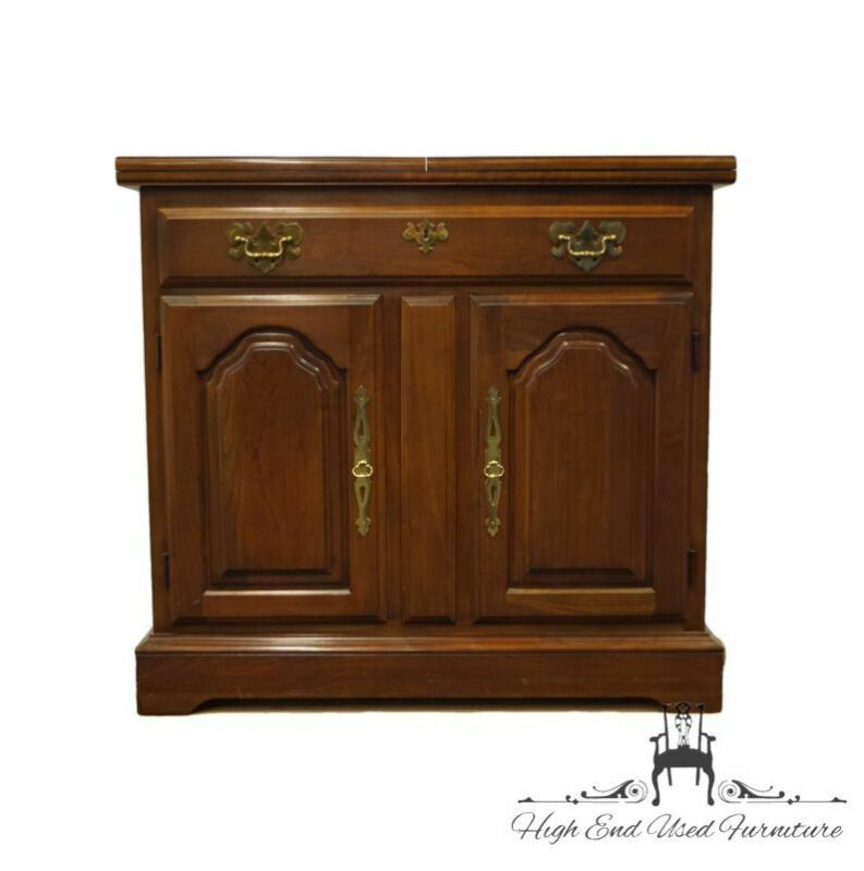 """HARDEN FURNITURE Solid Cherry Traditional Style 72"""" Flip-Top Server Buffet"""