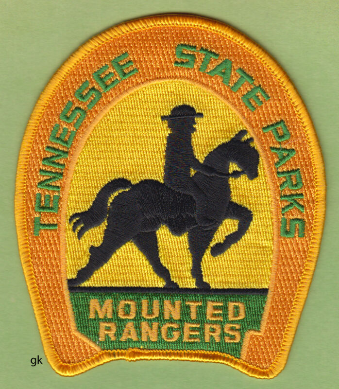 TENNESSEE STATE PARKS MOUNTED RANGER POLICE SHOULDER PATCH