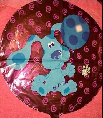 "Blues Clues Helium Mylar Balloon Nickelodeon 18"" Baby Shower Birthday  Mylar Blues Clues Helium Balloon"