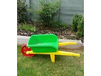 Toy Wheelbarrow - Green