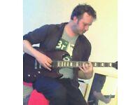 Guitar tutor in Shirehampton, experienced and enhanced CRB/DBS