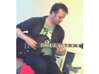 Guitar tutor in Shirehampton, Current CRB / DBS, also teach recording and composition