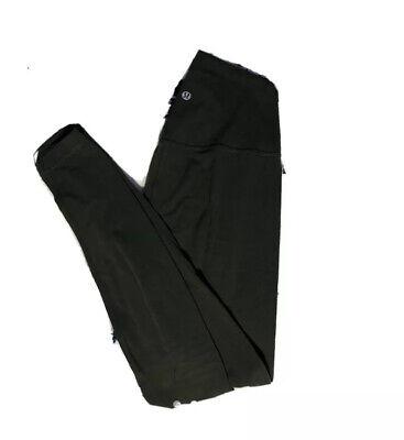 """Lululemon Women's Align Leggings 28"""" • Size 6 • Olive Green • Very soft"""
