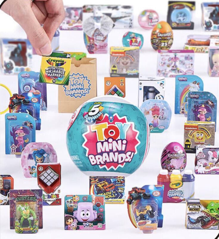 Zuru 5 Five Surprise Toy Series 1 Mini Brands Ball Capsule Mystery NEW