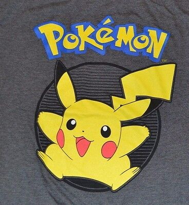 Pokemon Pikachu Character T-Shirt Officially Licensed Adult Tee