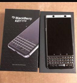 New Silver Grade A Unlocked Blackberry KEYone 32GB