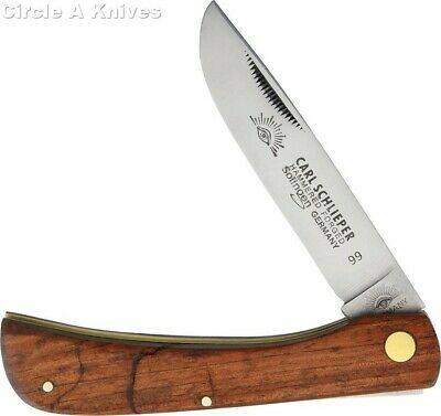 GERMAN EYE BRAND CUTLERY KNIFE - #GE99 CLODBUSTER -WOOD HANDLE- MADE IN GERMANY