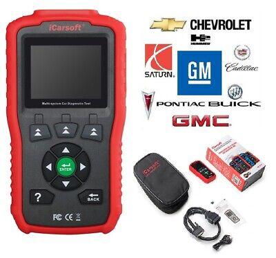 GM GENERAL MOTORS Diagnostic Scanner Code Reader iCARSOFT i900 ABS SRS SCAN TOOL