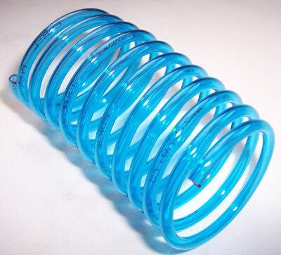 Spiral- Schlauch für Braun Munddusche Oral-B, Farbe: blau-transparnt, 125cm lang