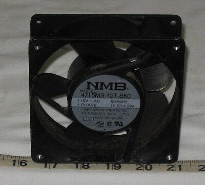 NMB-MAT Fan 4715MS-12T-B50 1 Phase 115V 50//60 Hz 15.5//14.5 W