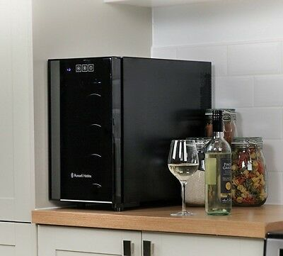 Russell Hobbs wine bottle / beer beverage fridge / cooler - man cave / world cup